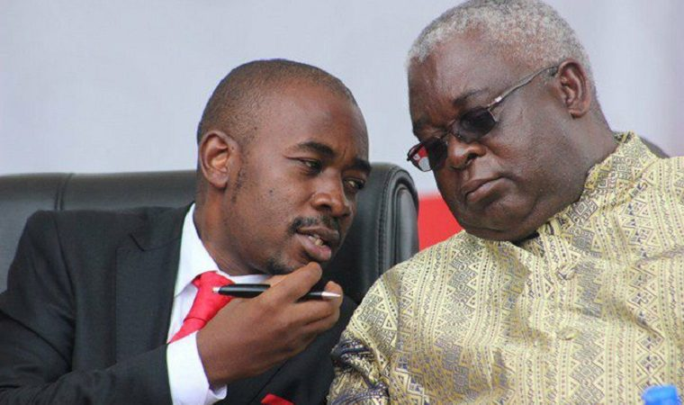 Chamisa afraid move to fire Mudzuri could backfire