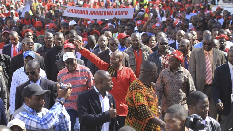 Chamisa and Biti threaten to camp outside the Zimbabwe Electoral Commission offices from tomorrow to 30 July