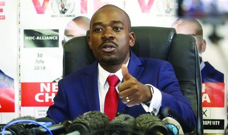 Chamisa accuses Matemadanda of intimidating the judiciary as court prepares to hear his challenge