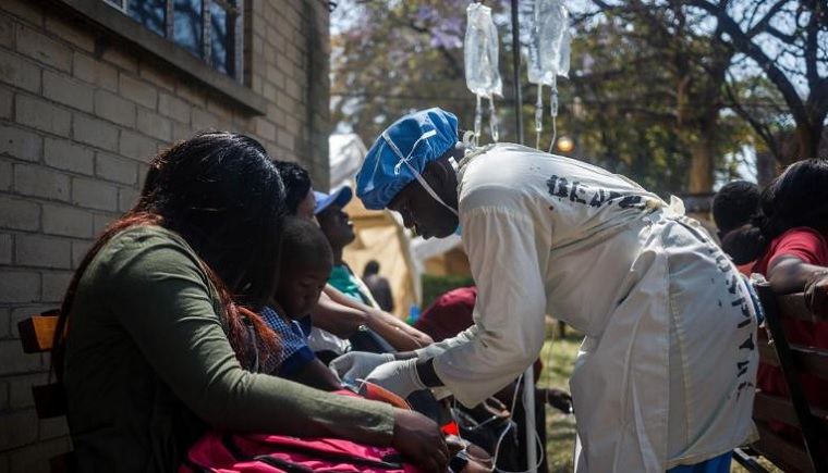 Cholera death toll now at 45