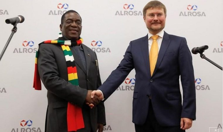 Russia's Alrosa resumes diamond exploration in Zimbabwe