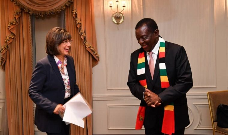 Don't live on perception, look at what I am doing, Mnangagwa says