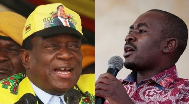 Chamisa once again calls on Mnangagwa to concede defeat says he did not even win the rural vote