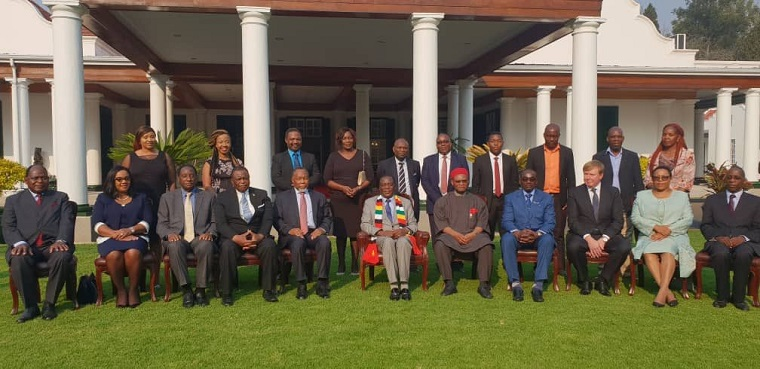 Mnangagwa swears in Commission of Inquiry into 1 August violence