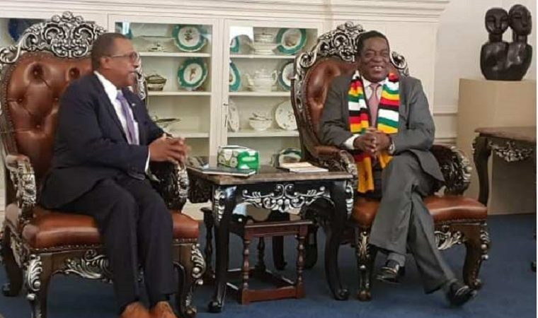 Mnangagwa not bothered about Chamisa election challenge, he has a country to run