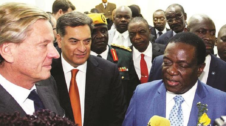 Mnangagwa on the cost to Zimbabwe of negative opposition and journalism