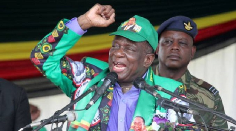 Zimbabwe is on the correct path, Mnangagwa says