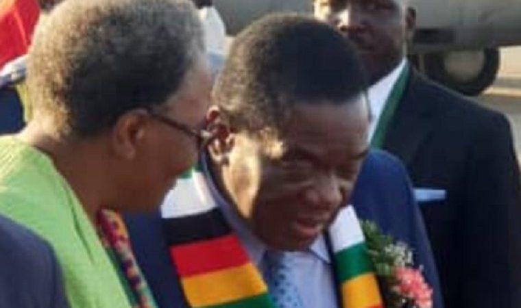 Mnangagwa already representing the new Zimbabwe!