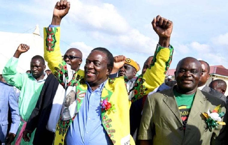 Mnangagwa still leads in presidential poll but Chamisa narrows the gap