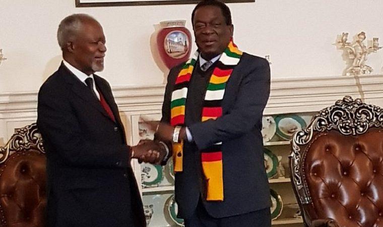 Kofi Annan dies before Zimbabwe election verdict is out