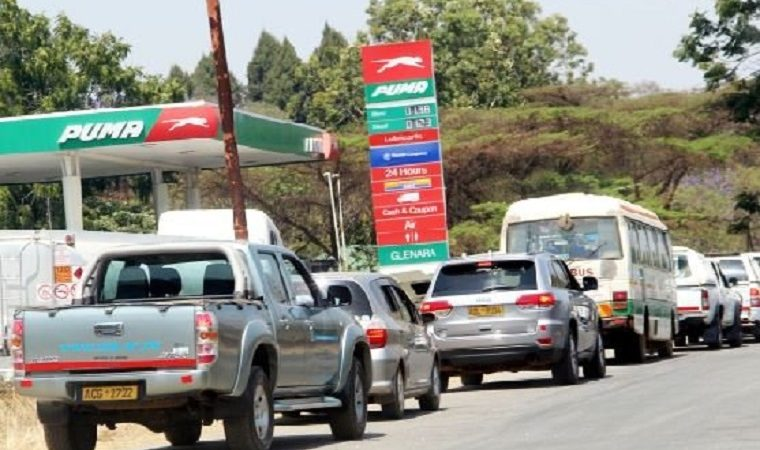 Zimbabwe fuel now only 40 US cents a litre