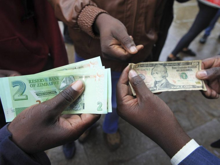 Zimbabwe bond note continues to gain ground against the US dollar